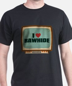 Retro I Heart Rawhide T-Shirt
