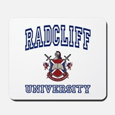 RADCLIFF University Mousepad