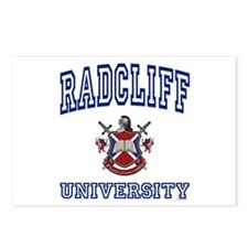 RADCLIFF University Postcards (Package of 8)