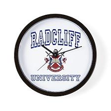 RADCLIFF University Wall Clock
