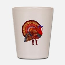 Thanksgiving Fashion Turkey Shot Glass