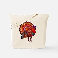 Thanksgiving Fashion Turkey Tote Bag