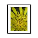 Yellow Flower Framed Panel Print