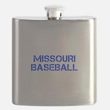 MISSOURI baseball-cap blue Flask
