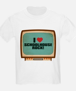 Retro I Heart Schoolhouse Rock! T-Shirt