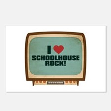Retro I Heart Schoolhouse Rock! Postcards (Package