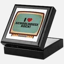 Retro I Heart Schoolhouse Rock! Keepsake Box
