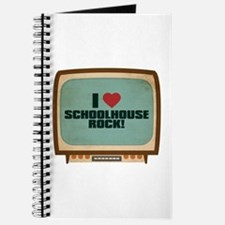 Retro I Heart Schoolhouse Rock! Journal