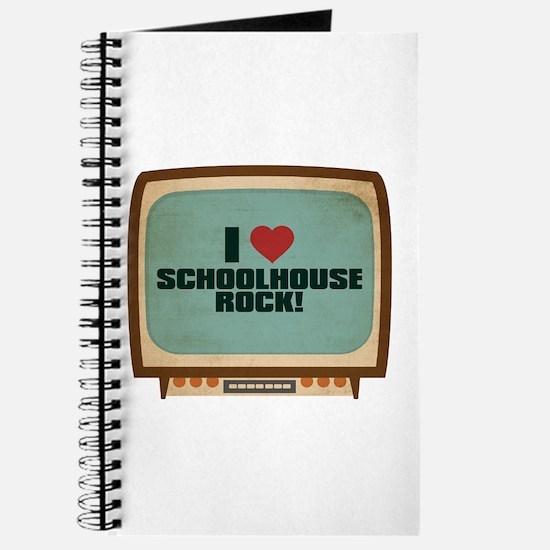 Retro I Heart Schoolhouse Rock! Journal