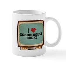 Retro I Heart Schoolhouse Rock! Mug
