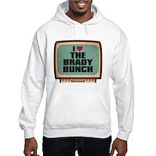 Retro I Heart The Brady Bunch Hoodie
