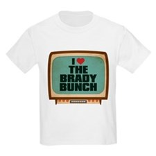 Retro I Heart The Brady Bunch T-Shirt