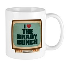 Retro I Heart The Brady Bunch Small Mug