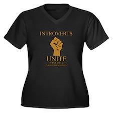 Introverts Unite Plus Size T-Shirt