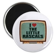 "Retro I Heart The Little Rascals 2.25"" Magnet (10"