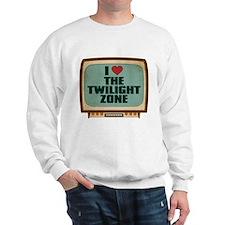 Retro I Heart The Twilight Zone Sweatshirt