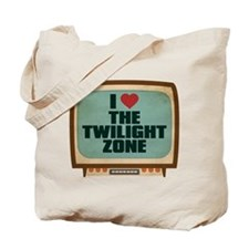 Retro I Heart The Twilight Zone Tote Bag
