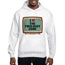 Retro I Heart The Twilight Zone Jumper Hoody