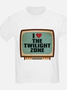 Retro I Heart The Twilight Zone T-Shirt