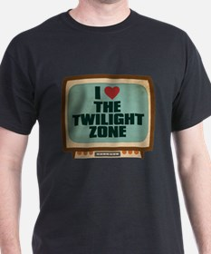 Retro I Heart The Twilight Zone T-Shirt