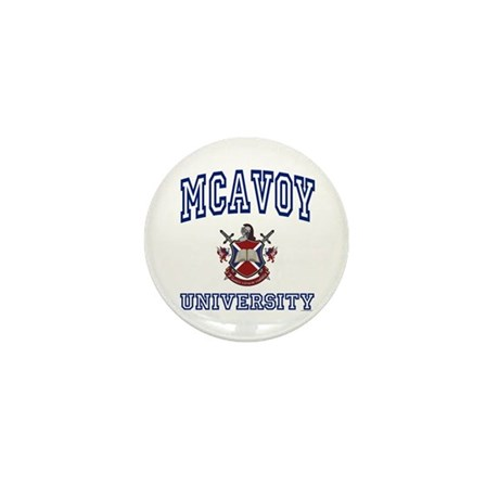 MCAVOY University Mini Button (10 pack)