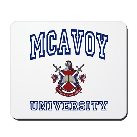 MCAVOY University Mousepad