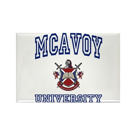 MCAVOY University Rectangle Magnet (100 pack)