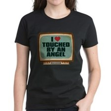 Retro I Heart Touched by an Angel Tee