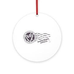 MW Express Ornament (Round)