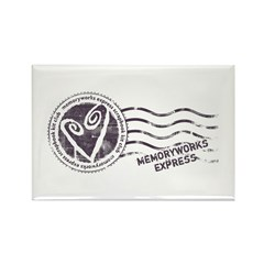 MW Express Rectangle Magnet (100 pack)