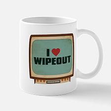 Retro I Heart Wipeout Mug