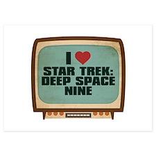 Retro I Heart Star Trek: Deep Space Nine Invitations