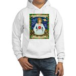 Lady Capricorn Hooded Sweatshirt