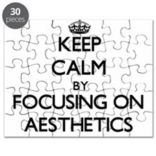 Keep Calm by focusing on Aesthetics Puzzle