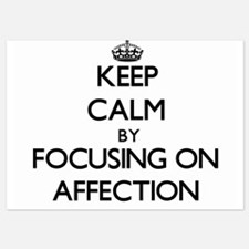 Keep Calm by focusing on Affection Invitations