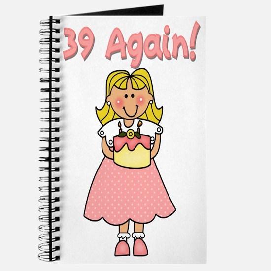 39 Again Journal