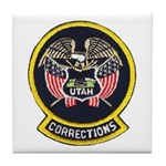 Utah Corrections Tile Coaster