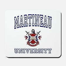 MARTINEAU University Mousepad
