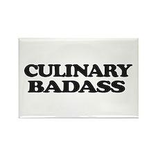 Chef Culinary Badass Magnets