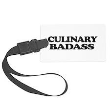 Chef Culinary Badass Luggage Tag