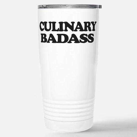 Chef Culinary Badass Travel Mug