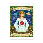 Lady Capricorn Mini Poster Print