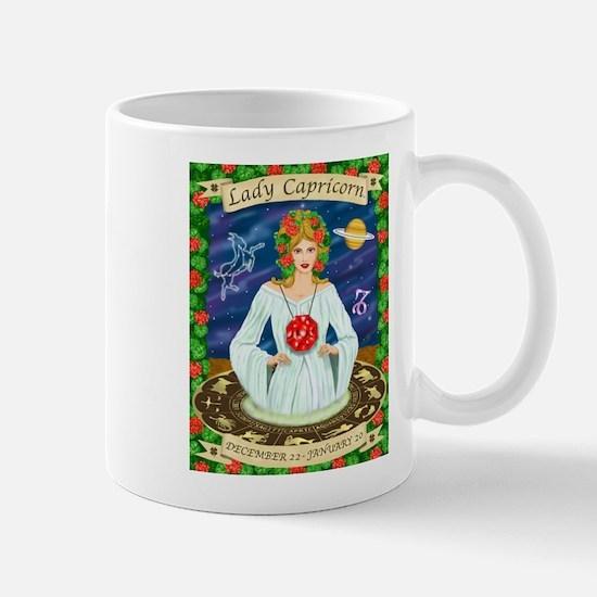 Lady Capricorn Mug