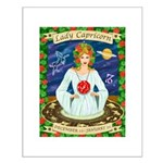 Lady Capricorn Small Poster