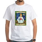 Lady Capricorn White T-Shirt