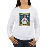 Lady Capricorn Women's Long Sleeve T-Shirt