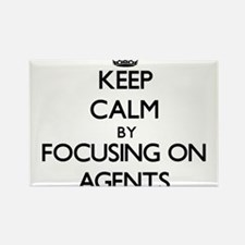 Keep Calm by focusing on Agents Magnets