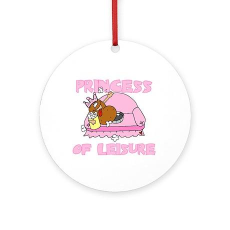 Princess of Leisure Ornament (Round)