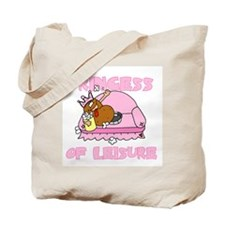 Princess of Leisure Tote Bag