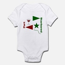 Pass the Port with this Infant Bodysuit